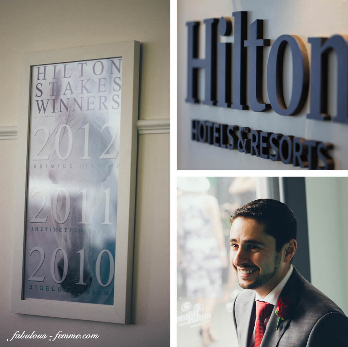 hilton decoration at the melbourne cup - luxury