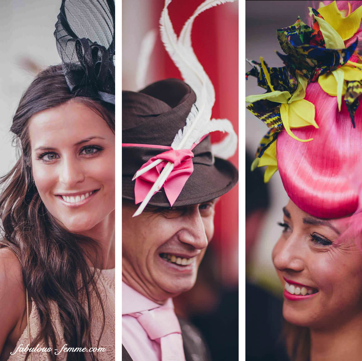 portraits hats millinery