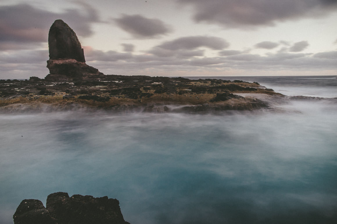 rock - cape schanck - long exposure