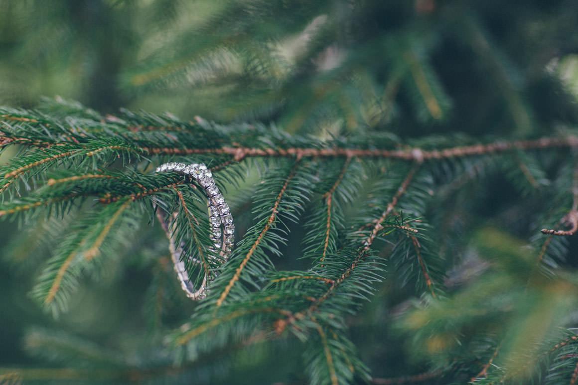 bracelet on tree
