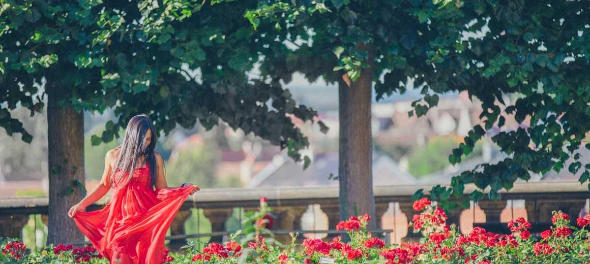 bamberg rose garden - Australian fashion blogger traveling Europe -
