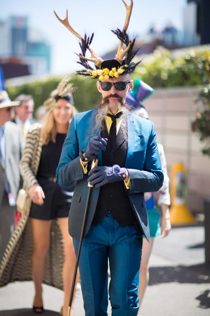 crazy outfits - Melbourne cup