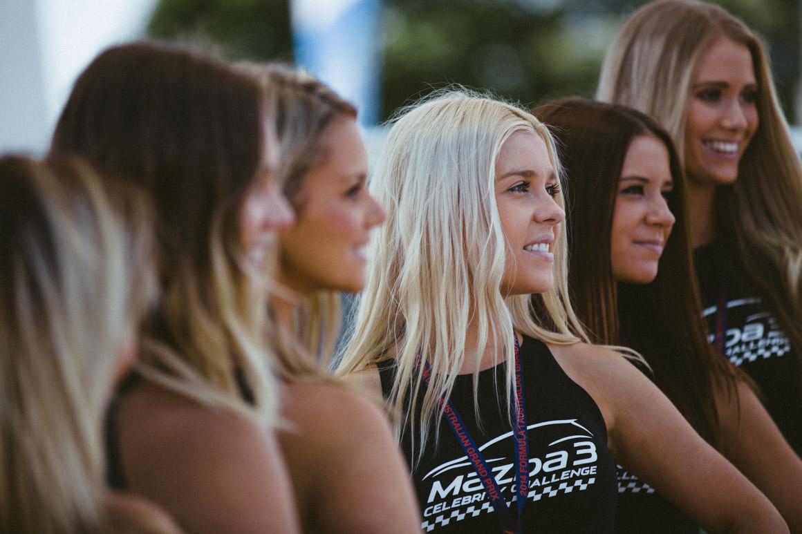 F1 promo girls