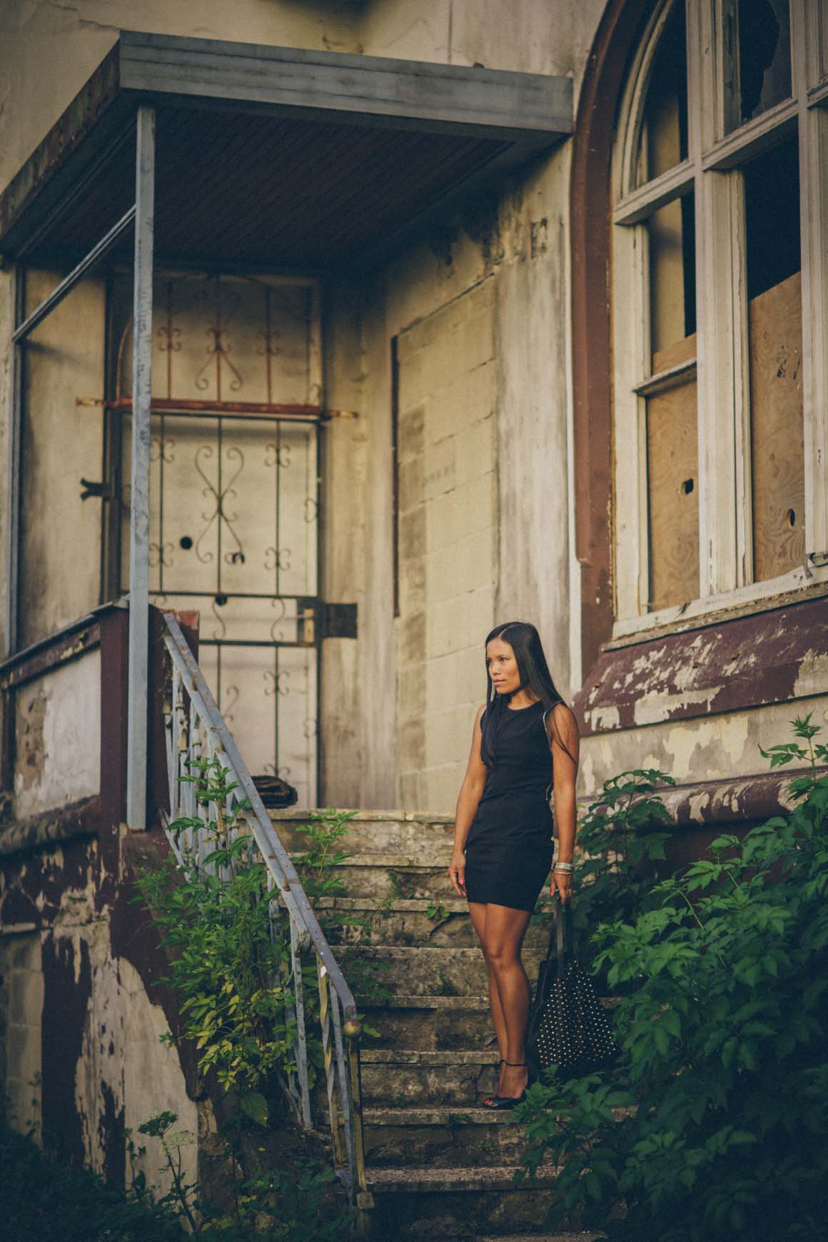 decayed house fashion shoot