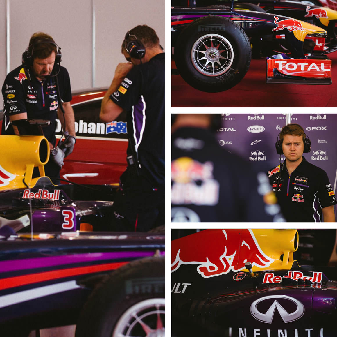 Red Bull Racing Team - Melbourne 2014