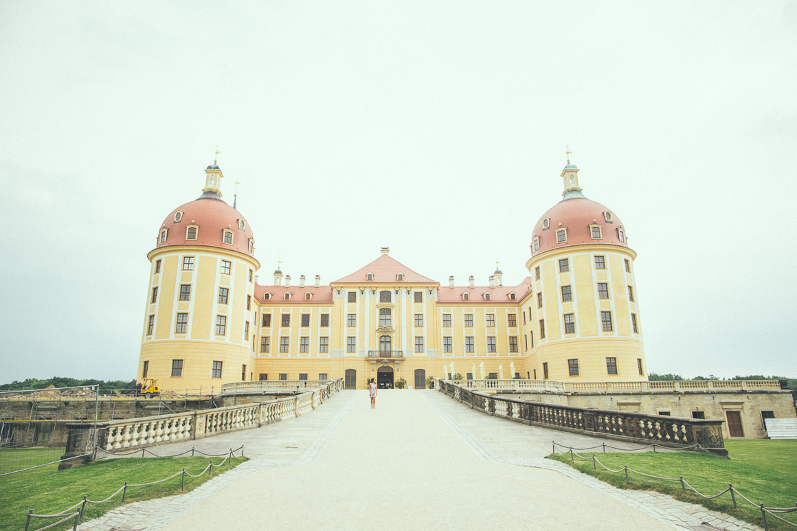castle - moritzburg