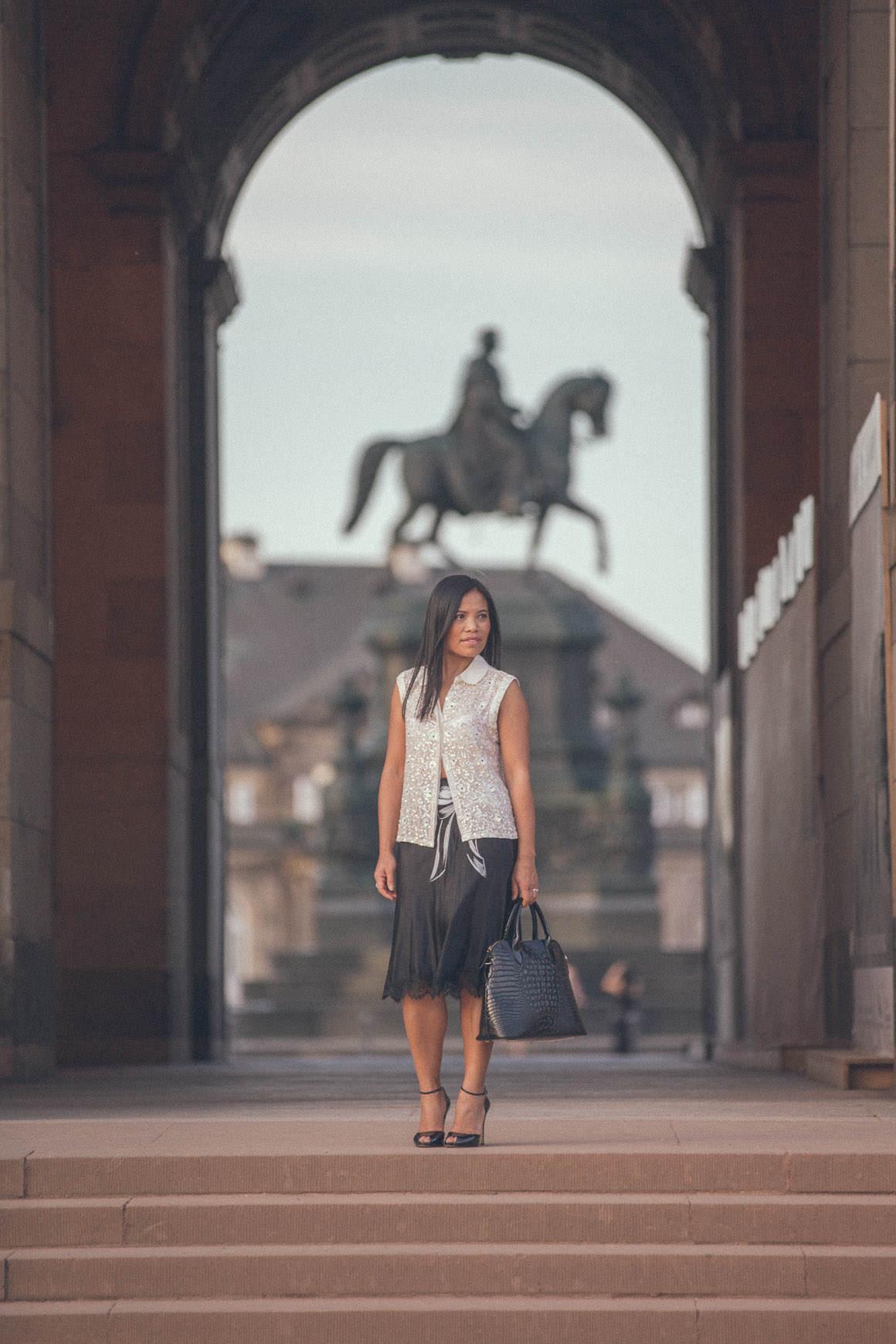 zwinger dresden - melbourne fashion blogger travels