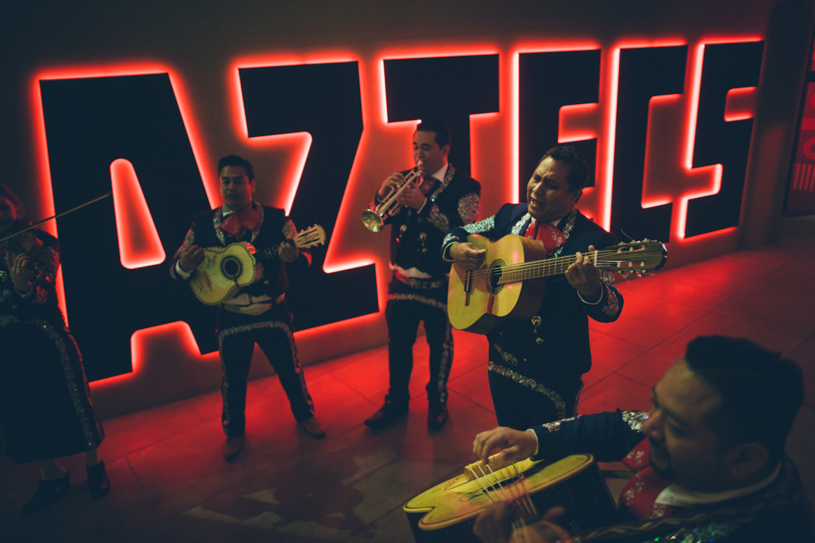 Aztecs exhibition at Melbourne Museum 2014