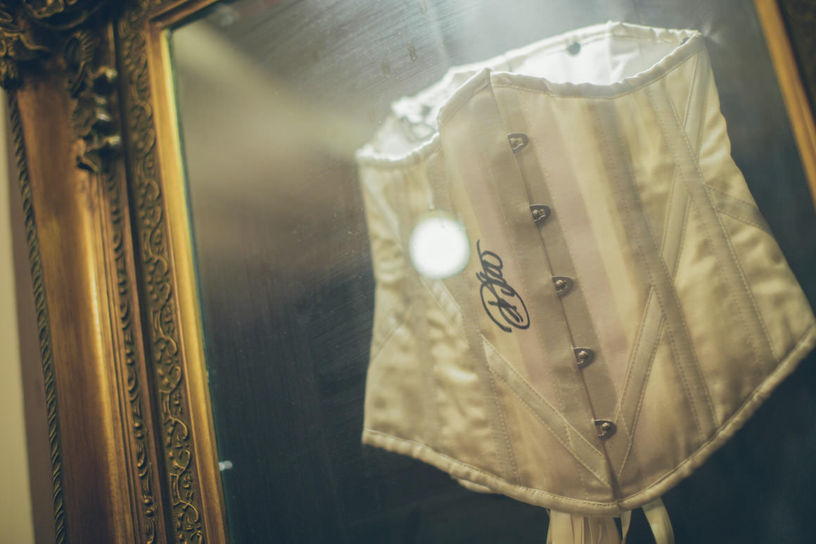 dita von teese -signed corset