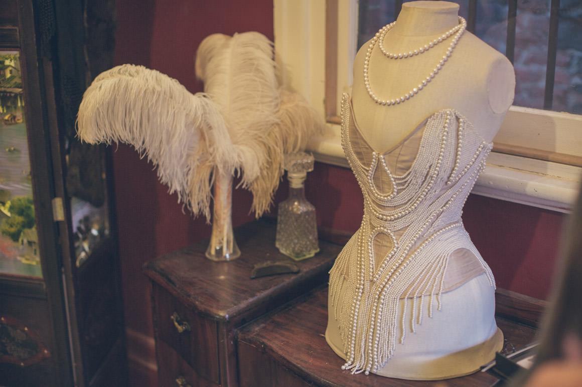 showgirls corsets