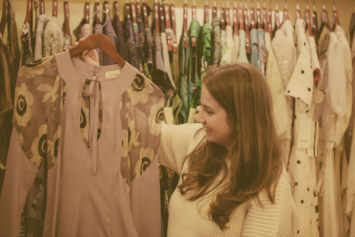 Lady Melbourne - selecting vintage fashion