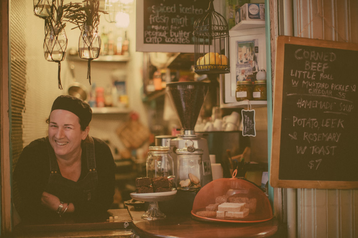 local birds - the smallest cafe in melbourne