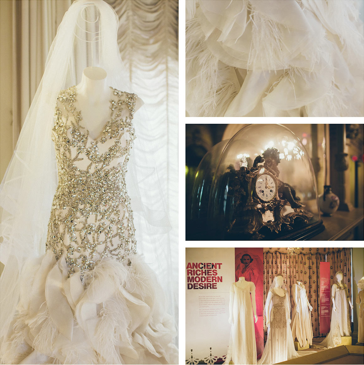stunning wedding dresses - Melbourne exhibition