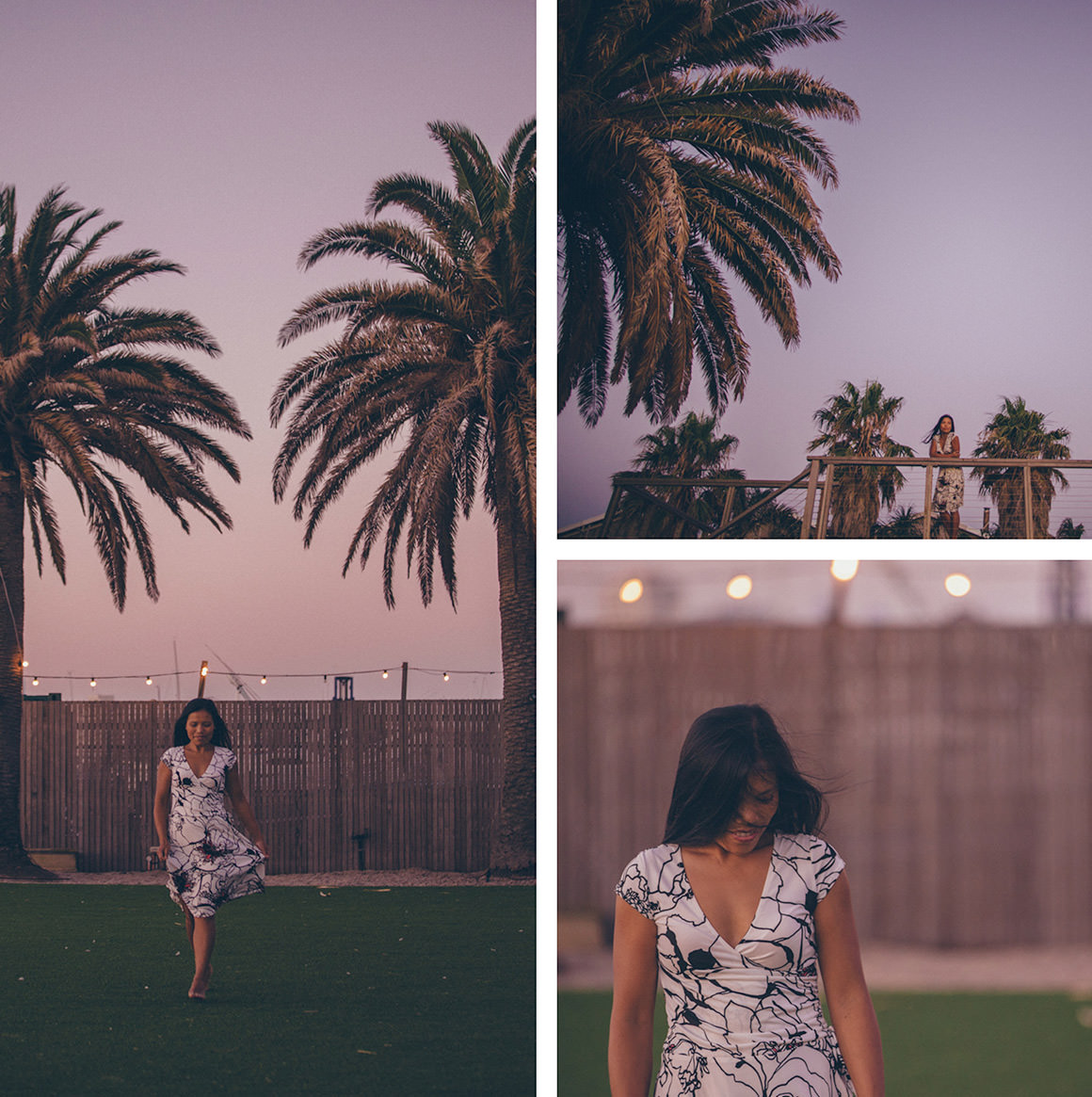 australian fashion blogger in st kilda