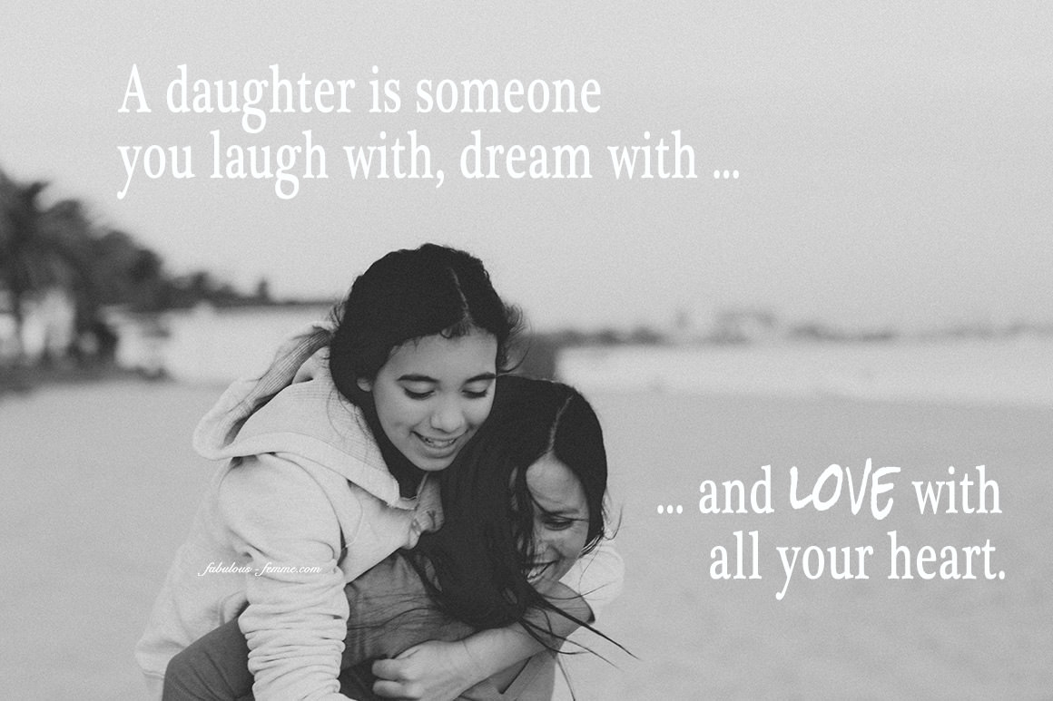 mother daughter quote - love