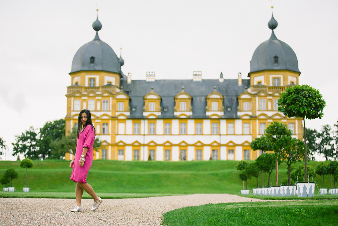 schloss seehof fashion - melbourne blogger travel