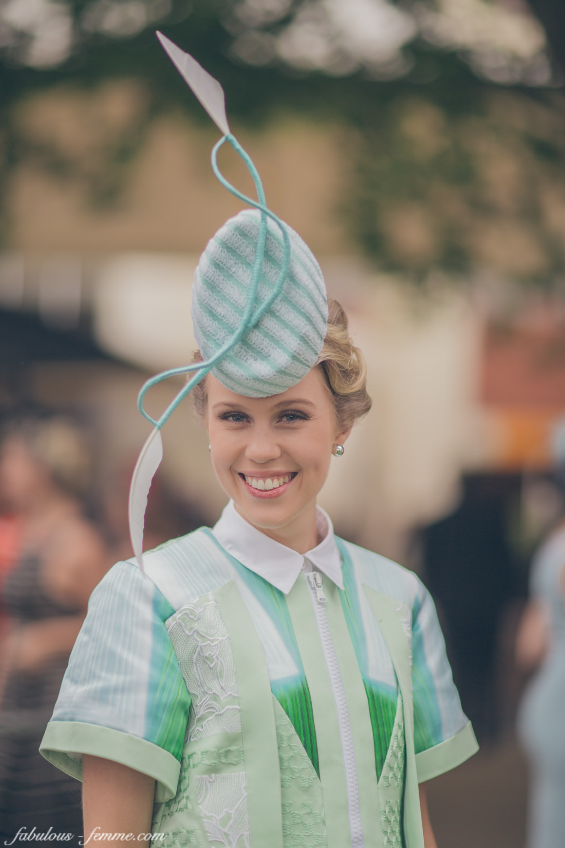 winner Caulfield Cup - Fashions on the Field 2014 - Crystal Kimber