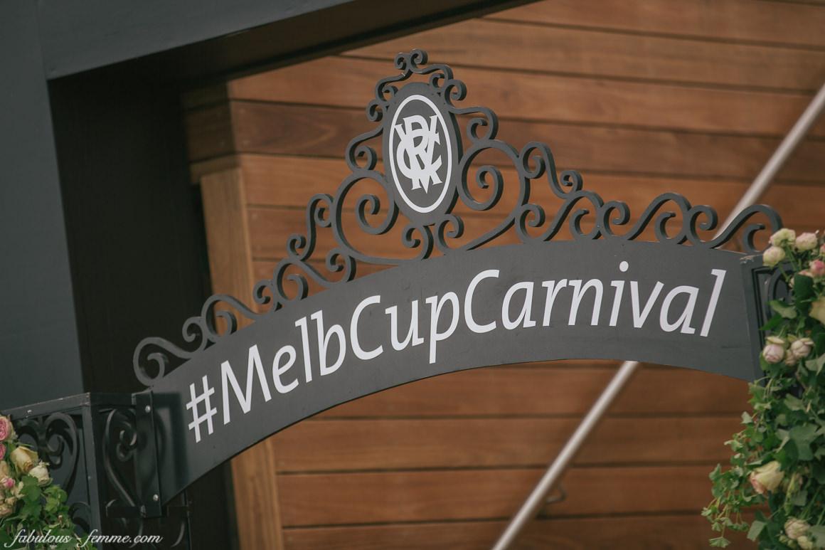 hashtag #melbcupcarnival