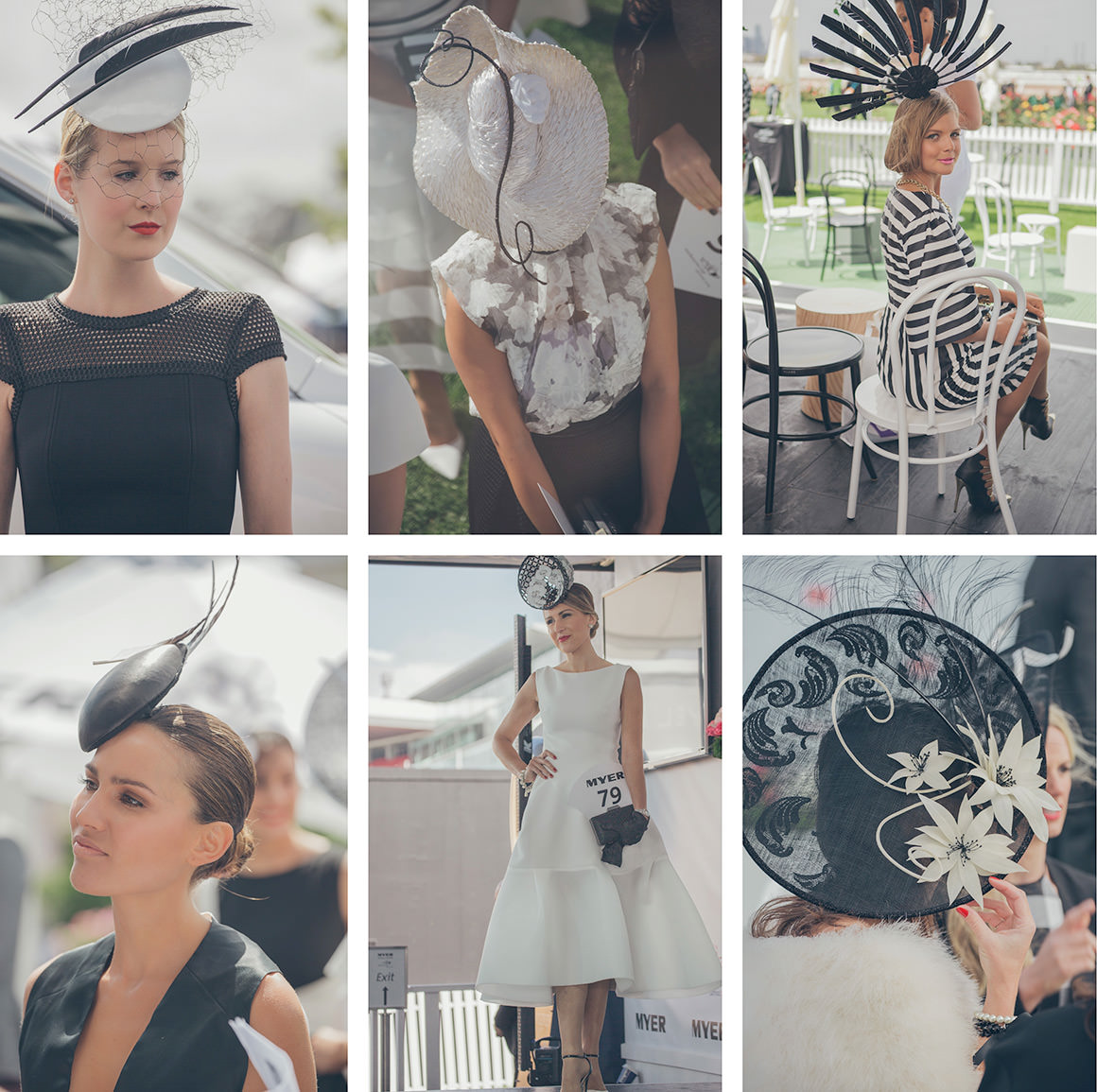 best millinery of the fashions on the field at the spring racing carnival in melbourne - derby day