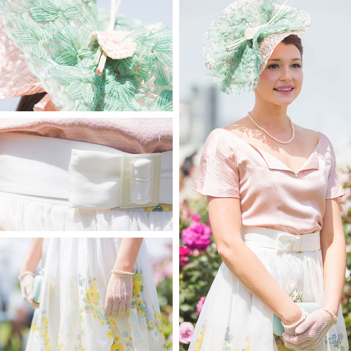 Charlotte Moor  - Oaks day fashions on the field winner