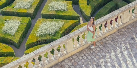 luxury escape - blogger travels the world - stylish getaway - gardens