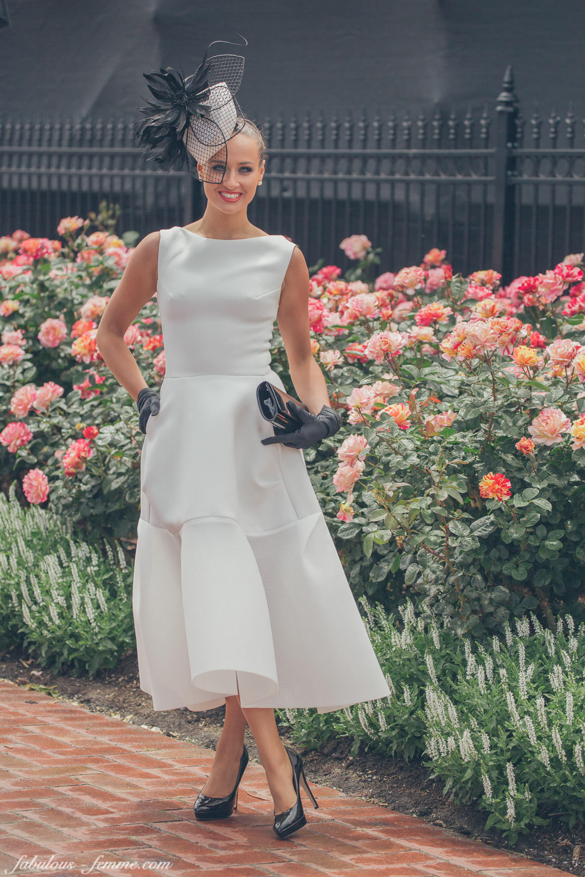 fashion competitions at the melbourne spring racing carnival - winner 2014