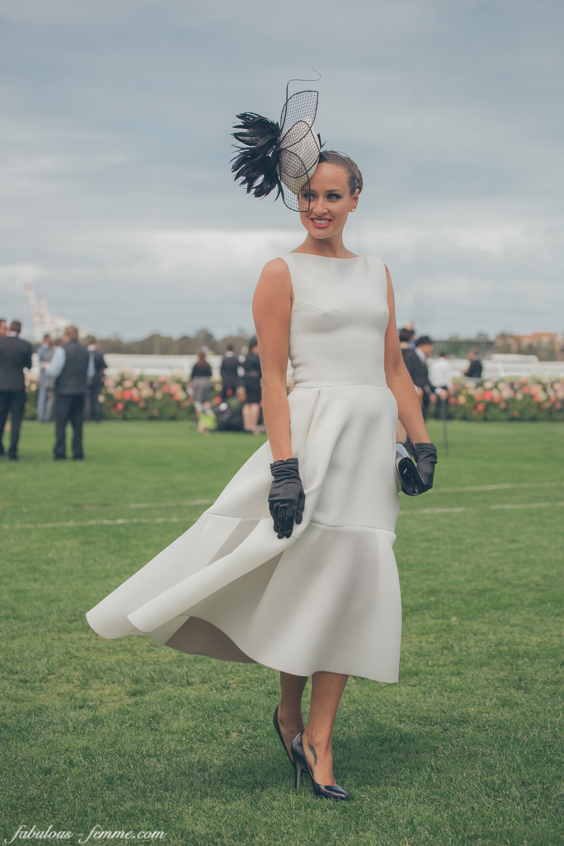 2014 winner of the Fashions on the Field - Oaks Day Victorian Finals - National Final