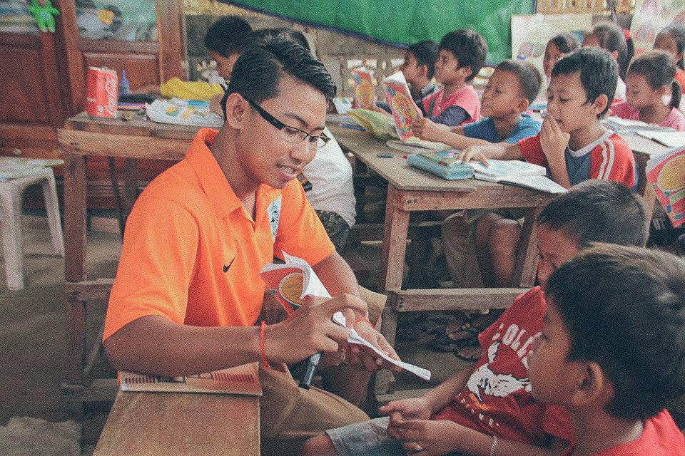 happy kids cambodia