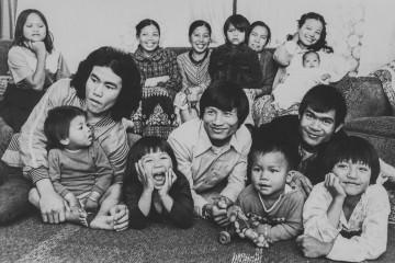 vintage refugee photo