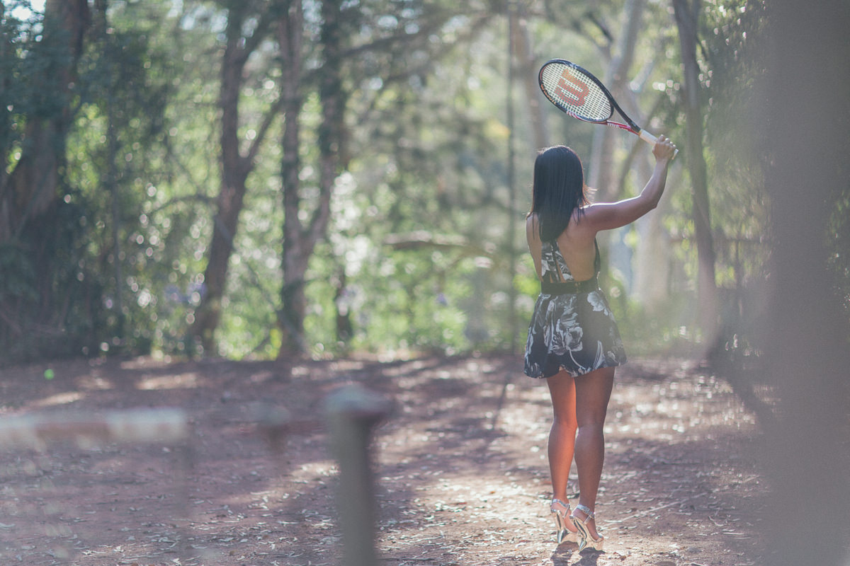 play tennis in a playsuit
