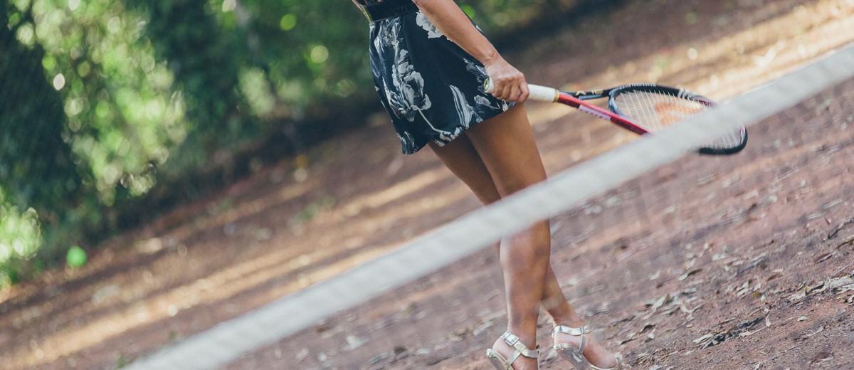 fashion shoot for australian open tennis