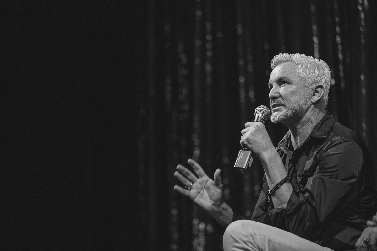 baz luhrmann discussing melbourne and his musical