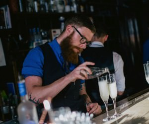 bar mixer - grey goose - taste by appointment