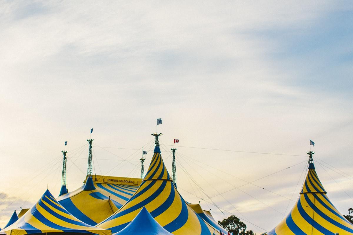 cicus tent - picture