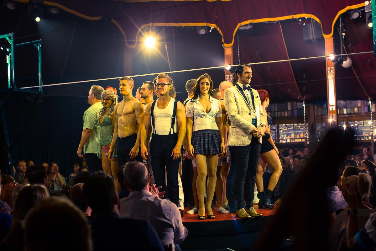 melbourne show - absinthe cast