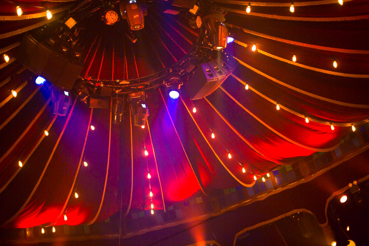 spiegeltent lights