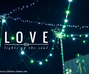 unique love quotes - love lights up your should - best picture quotes on the web