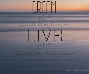 Quote - Dream Forever