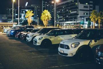 Melbourne Mini Cooper event
