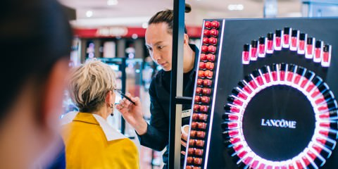 new beauty space at myer melbourne