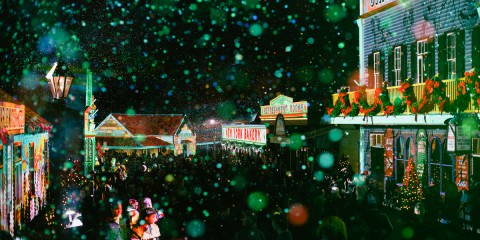 celebrate christmas in july in sovereign hill - a day trip from Melbourne - Events and Travel