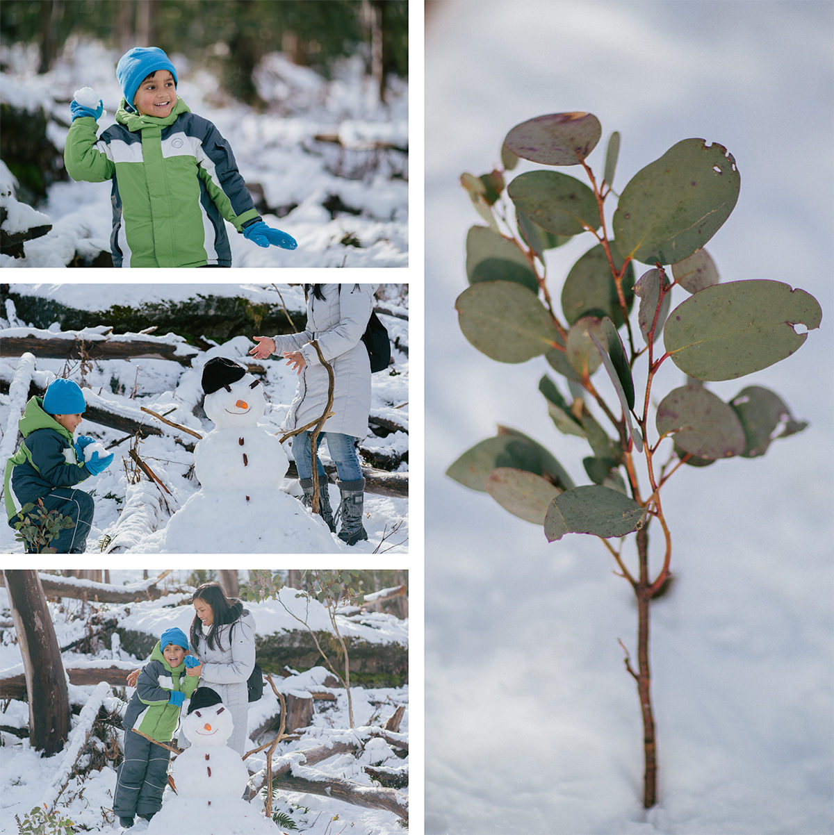 kids have fun with snowplay in melbourne