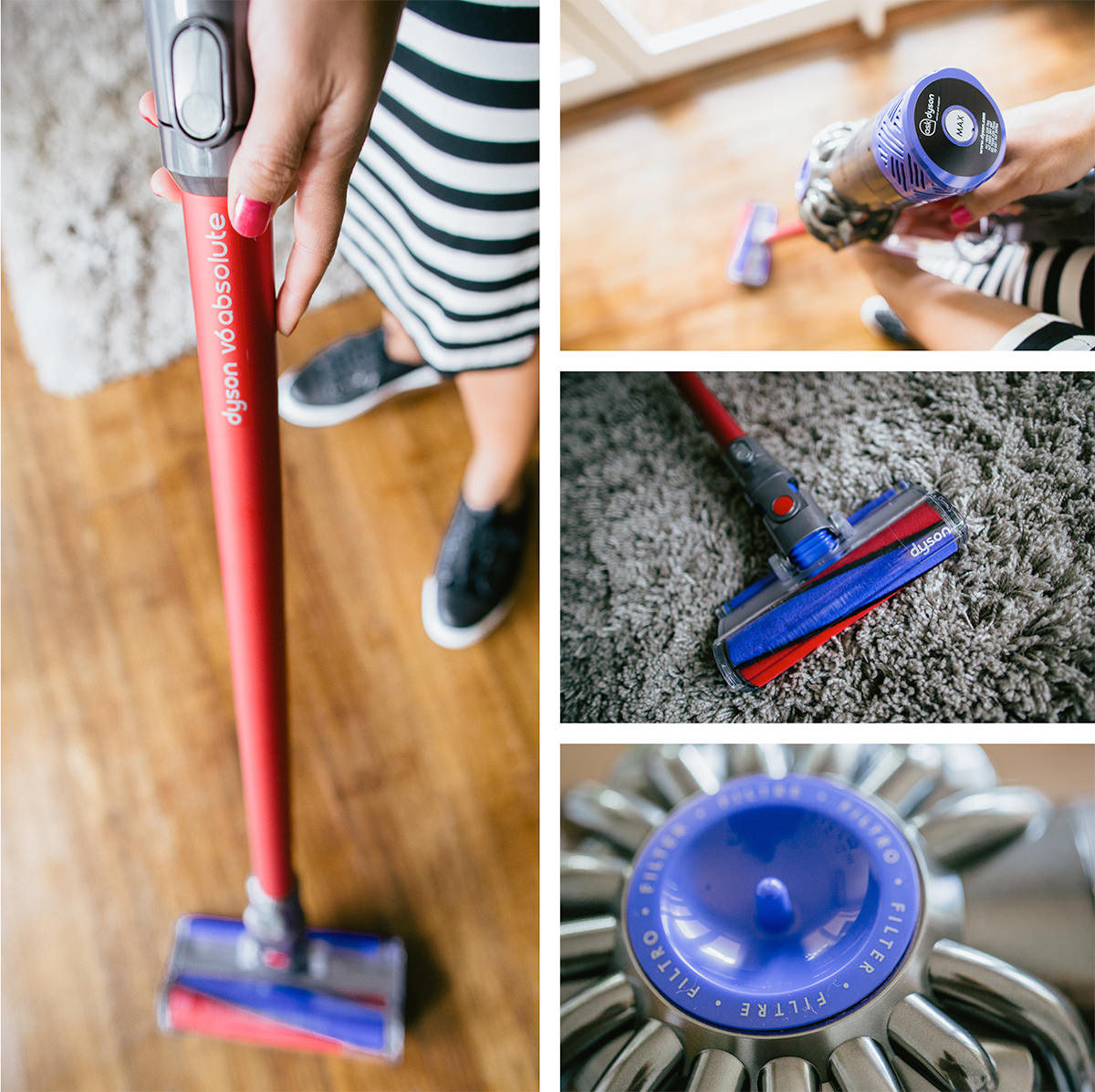 a clean luxury home - keep it neat with a dyson v6