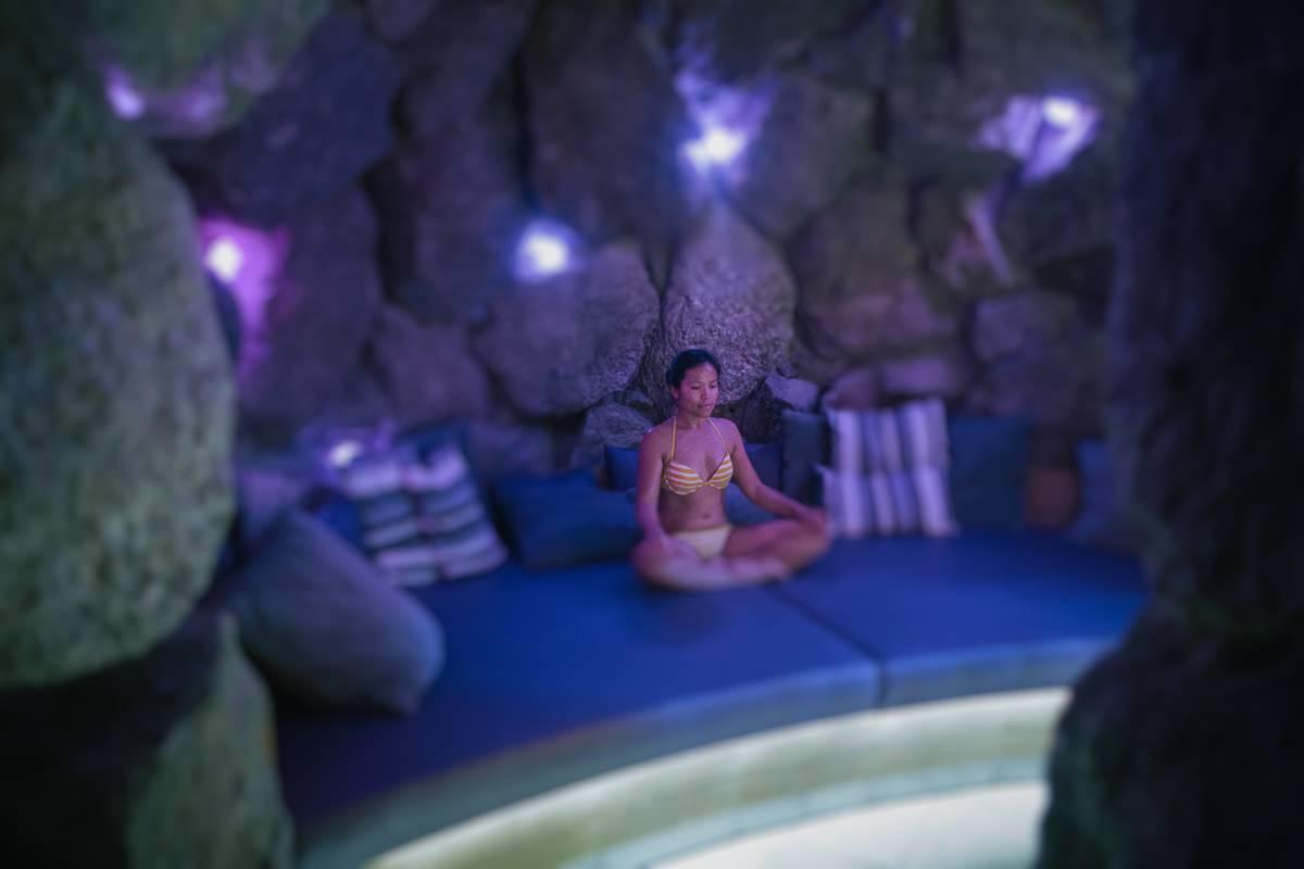 luxury spa - cave spa sauna - wellness hotel
