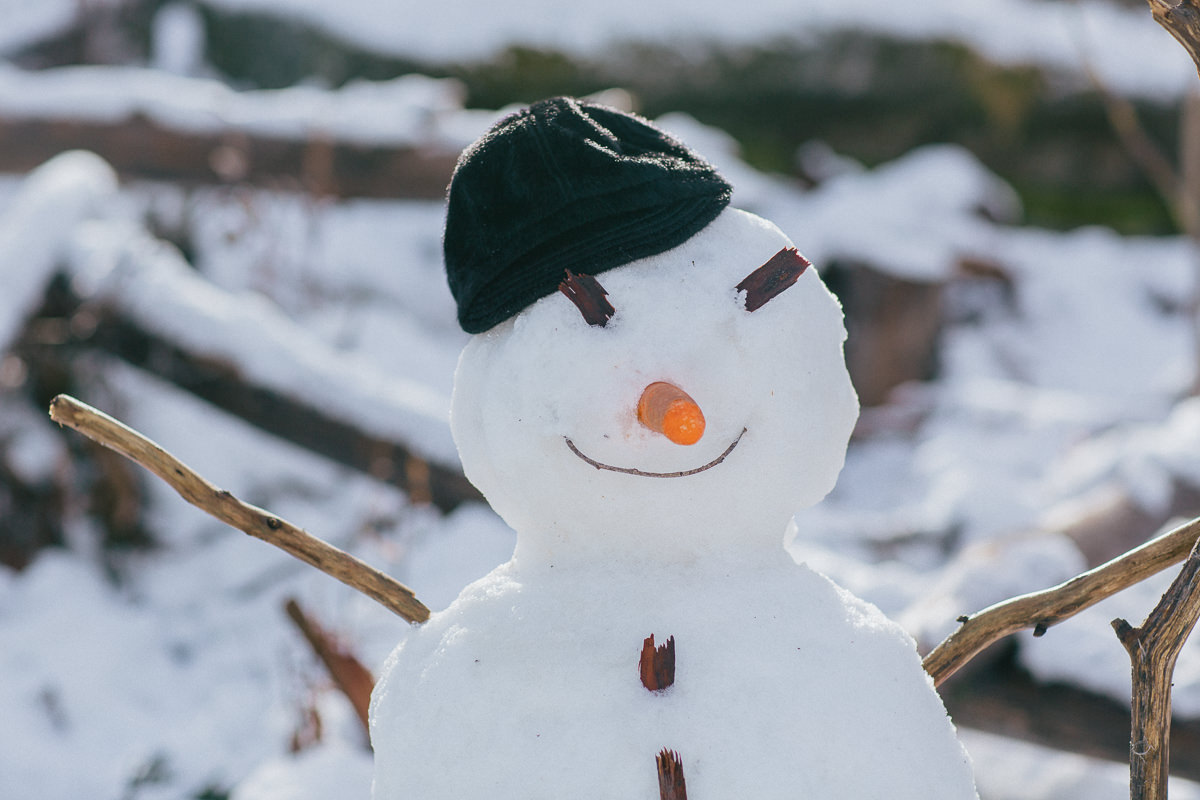 snowman in melbourne - lake mountain resort - snow trips in 2015 and 2016