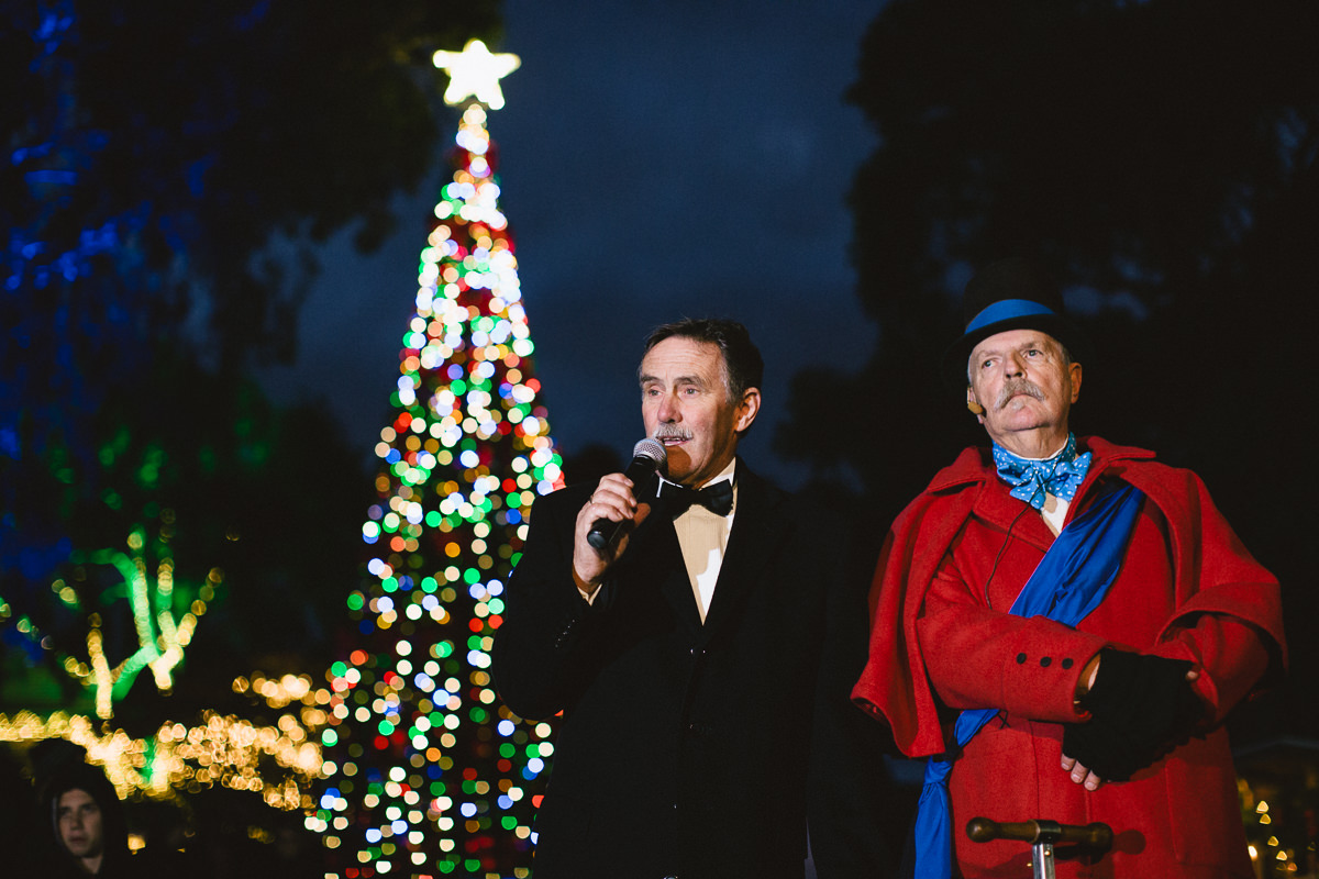 Opening of the Christmas Wonderlights in Sovereign Hill