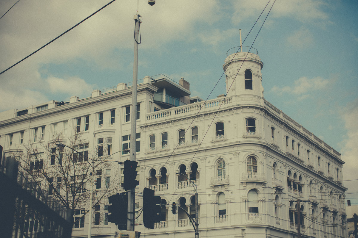 building - the george in St kilda