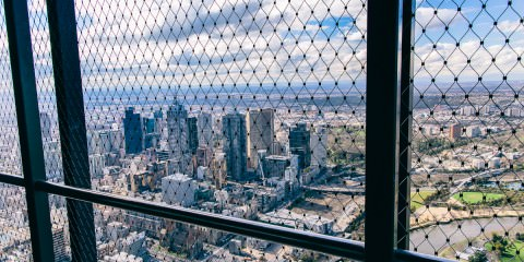 best views in Melbourne - from the skyscraper - Eureka Tower