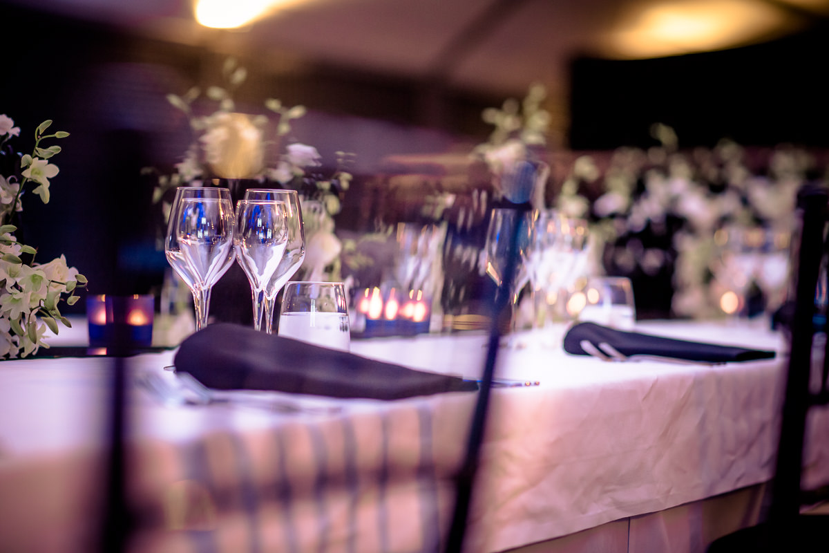 photography for events - table details