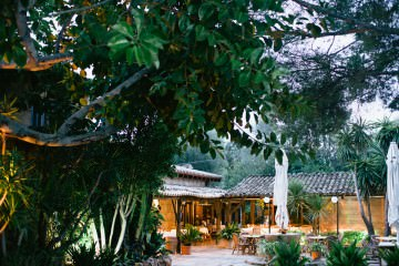 Los Patios in Alcudia, Mallorca, Spain - one of the best restaurants there - hidden behind the tourist area - secret tip